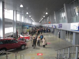 В аэровокзале аэропорта Чита Кадала