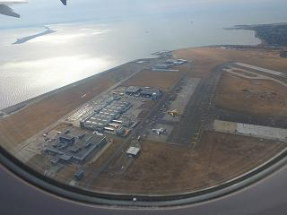 Takeoff from Copenhagen airport Kastrup
