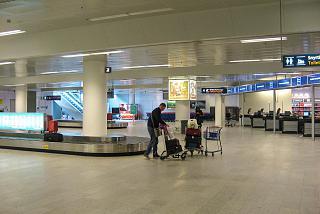 In Keflavik airport