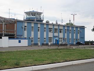 Аэропорт Бугульма - диспетчерская вышка
