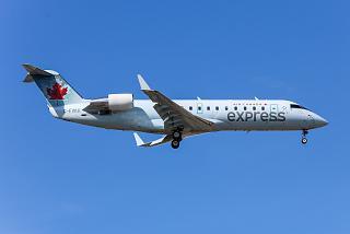 Bombardier CRJ-100ER C-FWJI operated by Air Georgian