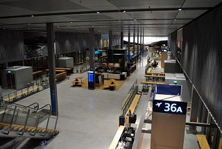 In the international departures area of terminal T2 Helsinki airport