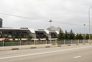 Passenger terminal of Sochi airport