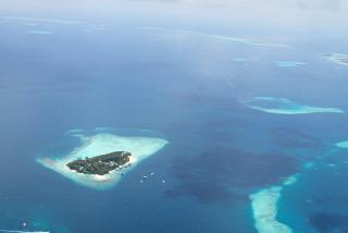 One of the Maldives atolls