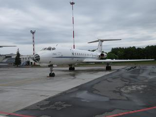 "The plane Tu-134 of airline ""Sirius-Aero"" airport Strigino"