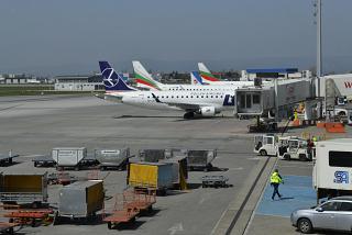 Перрон аэропорта София