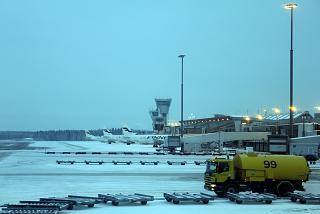 Внутришенгенская зона аэропорта Хельсинки Вантаа со стороны перрона