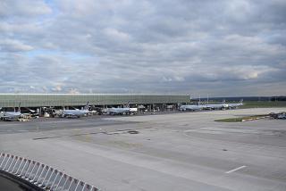 Passenger terminal 2E-L airport Paris Charles de Gaulle