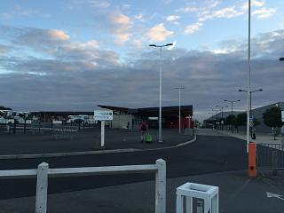 Station square airport Paris Beauvais-Tille
