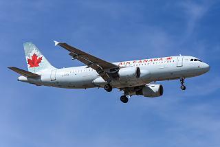 Самолет Airbus A320 C-FGJI авиакомпании Air Canada