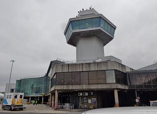 Control tower at terminal 1, Manchester airport