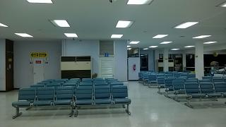 The waiting room at the airport u-Tapao