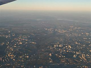 Top view of the airport Kiev Juliani