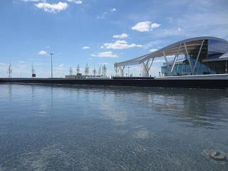 Искусственные водоемы в аэропорту Ростов-на-Дону Платов