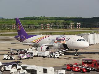 Самолет Airbus A320 авиакомпании Thai Smile