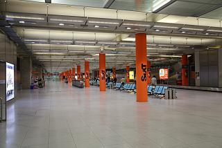 Arrival hall in terminal 2 at Cologne/Bonn airport