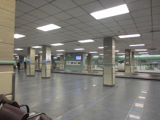 Baggage claim at the airport of Islamabad Benazir Bhutto