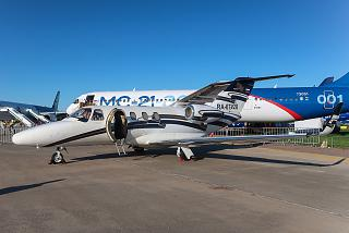 Business jet Cessna 525 Citation at MAKS-2019