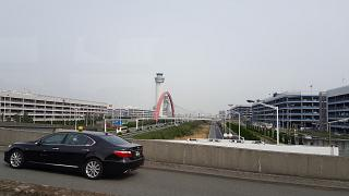 Car Parking at the airport of Tokyo Narita