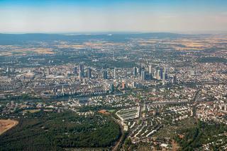 City of Frankfurt am Main in Germany