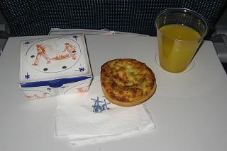 Snack food for the flight Amsterdam Toronto KLM