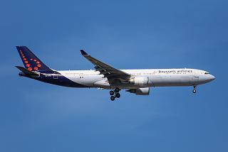 The Airbus A330-300 OO-SFO Brussels Airlines
