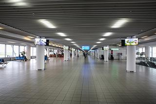 Clean area in terminal 2 of Sofia airport