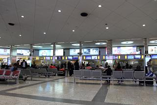 The check-in area in terminal 4 airport Tehran Mehrabad