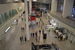 Общий зал пассажирского терминала аэропорта Самара Курумоч