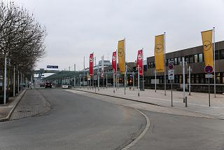 The passenger terminal of the airport of Nuremberg