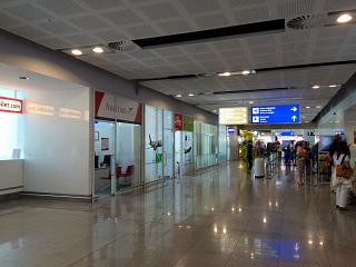 Representative offices of airlines in airport Varna