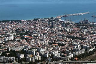 View of the centre of Burgas, in Bulgaria