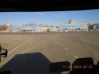 Аэропорт Сыктывкар с перрона