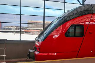 Aeroexpress at Sheremetyevo airport