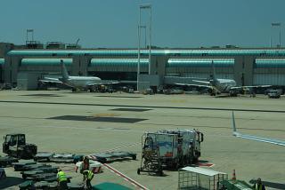Самолеты у терминала 3 аэропорта Рим Фьюмичино