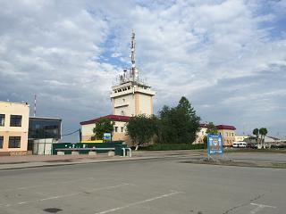 Диспетчерская башня аэропорта Тюмень Рощино