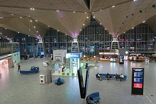 В пассажирском терминале аэропорта Санкт-Петербург Пулково