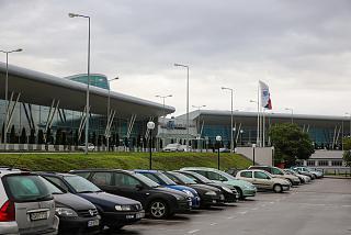 Вход в терминал 2 аэропорта София