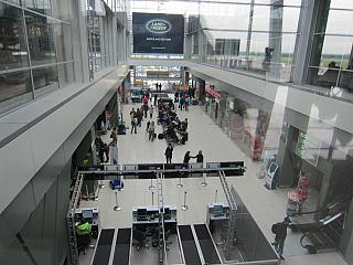 In terminal A of airport Kyiv Zhulyany