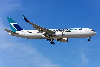 Boeing 767-300ER C-FOGJ airlines WestJet Airlines