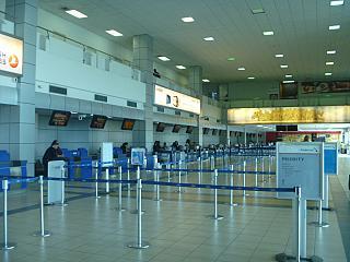 Стойки регистрации в аэропорту Панама Токумен