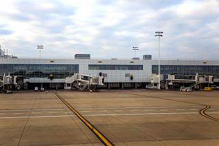 Pier B terminal at Brussels airport