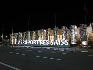 The terminal of the airport Fes-SAIs