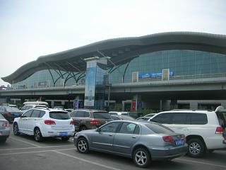 The terminal of the airport of Urumqi