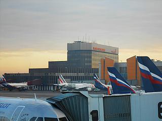 Terminal F of Sheremetyevo airport