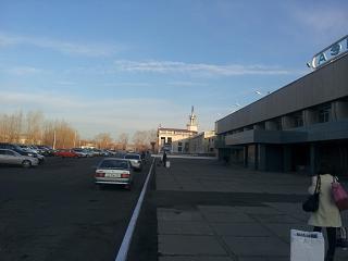 Привокзальная площадь аэропорта Чита