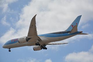 Boeing 787-8 with number G-TUID of Thomson Airways airline