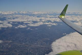 Takeoff over Sochi