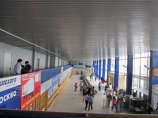 Аэропорт Братск внутри