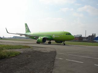 A320neo S7 airlines Irkutsk (9.08.2017)